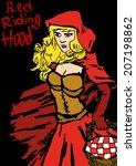 red riding hood | Shutterstock . vector #207198862