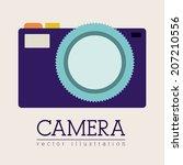technology design over beige...   Shutterstock .eps vector #207210556