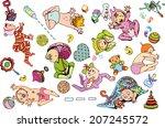babies1cb | Shutterstock .eps vector #207245572