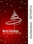 holiday tree | Shutterstock .eps vector #20725912