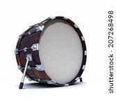 3d Render Of A Bass Drum