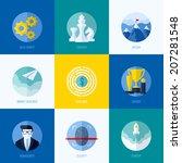 modern flat vector concepts for ... | Shutterstock .eps vector #207281548