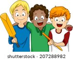 illustration featuring a group... | Shutterstock .eps vector #207288982