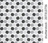 elegant seamless pattern with...   Shutterstock .eps vector #207313756