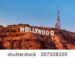 los angeles  ca   november 22 ... | Shutterstock . vector #207328105
