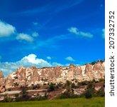 Landscape Cappadocia  Turkey