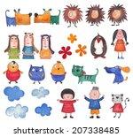 set characters | Shutterstock . vector #207338485