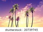 beautiful sunset   Shutterstock . vector #20739745