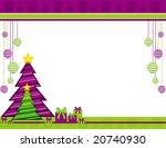 christmas vector illustration | Shutterstock .eps vector #20740930