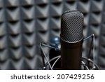 studio microphone  recording... | Shutterstock . vector #207429256