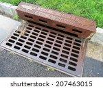storm drain. | Shutterstock . vector #207463015