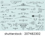 36 design elements | Shutterstock .eps vector #207482302