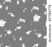 grunge seamless pattern stripe... | Shutterstock .eps vector #207582778