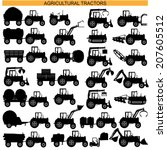 Vector Agricultural Tractor...
