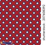 vintage star pattern vector... | Shutterstock .eps vector #207608392