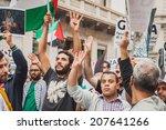 milan  italy   july 26  people... | Shutterstock . vector #207641266