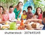 Group Of Families Enjoying...
