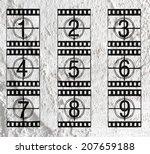 Film Strip Illustration Sound...