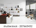 bright and fashionable interior ...   Shutterstock . vector #207665452