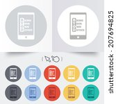 byod sign icon. bring your own... | Shutterstock .eps vector #207694825