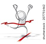 sparse vector illustration of a ... | Shutterstock .eps vector #207751462