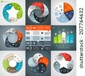 Vector Circle Infographics Set...