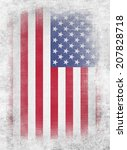 usa flag   Shutterstock . vector #207828718