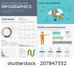 data visualization infographic...