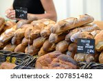 Fresh Baked Rustic Bread And...