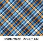 seamless tartan pattern | Shutterstock .eps vector #207874132