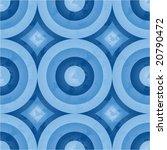 Seamless Retro Pattern  Circle