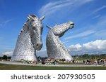 The 'kelpies' Falkirk  Scotland