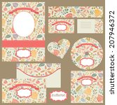 corporate identity business set ... | Shutterstock .eps vector #207946372