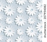 beautiful background seamless... | Shutterstock .eps vector #207954082
