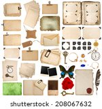 Scrapbooking Elements. Vintage...