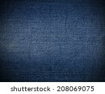 Striped Textured Blue Used...