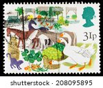 united kingdom   circa 1983  a... | Shutterstock . vector #208095895