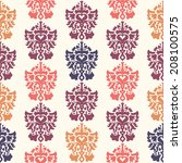 colorful vector pattern.... | Shutterstock .eps vector #208100575