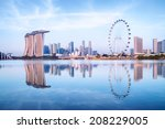 Singapore Skyline  View From...