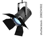 3d render of a spotlight... | Shutterstock . vector #208254502