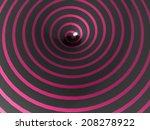 pink spiral concept | Shutterstock . vector #208278922