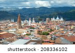 view of the city of cuenca ... | Shutterstock . vector #208336102