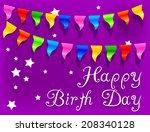 anniversary concept | Shutterstock .eps vector #208340128