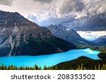 Peyto Lake at Canadian Rockies