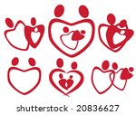 family elements vector | Shutterstock .eps vector #20836627