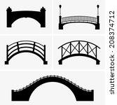 bridges | Shutterstock .eps vector #208374712