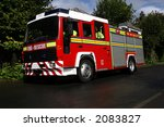 clean uk fire engine