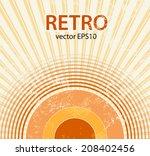 retro starburst | Shutterstock .eps vector #208402456