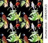 watercolor seamless pattern... | Shutterstock . vector #208420915