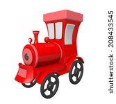 train toy | Shutterstock . vector #208433545